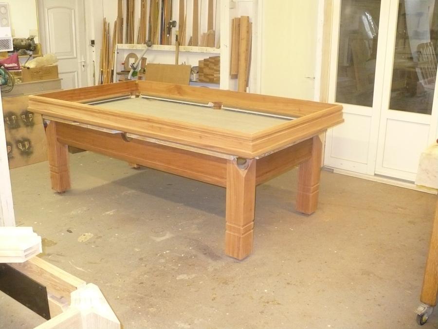Plan de fabrication dun billard for Plan table de billard